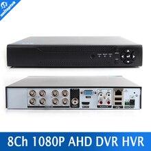 HD 8CH AHD DVR 1080 P Enregistreur Vidéo Numérique AHDH/AHDNH Réseau Moniteur, CCTV DVR Enregistreur Max À 4 TB P2P/CMS Voir