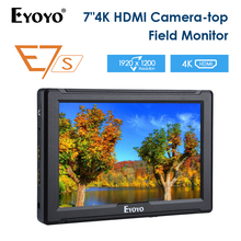 E7S 7 Inch IPS Full HD 1920x1200 4K HDMI On-camera Field Monitor for Canon Nikon Sony DSLR Camera DSLR Gimbal Rig viltrox dc 70pro 7 inch field monitor hd camera video 4k monitor hdmi sdi av input 1920x1200 for canon nikon pentax sony dslr