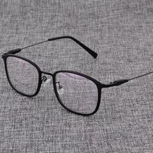 Alloy  Glasses Frame Men or women Ultralight Square Myopia Prescription Eyeglasses Male Metal Optical Frame Eyewear D825 все цены