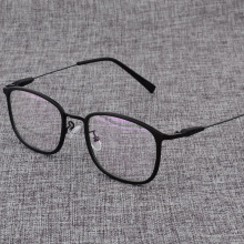 Prescription Eyeglasses Eyewear Myopia Ultralight Women Square Metal Male D825 Or Alloy