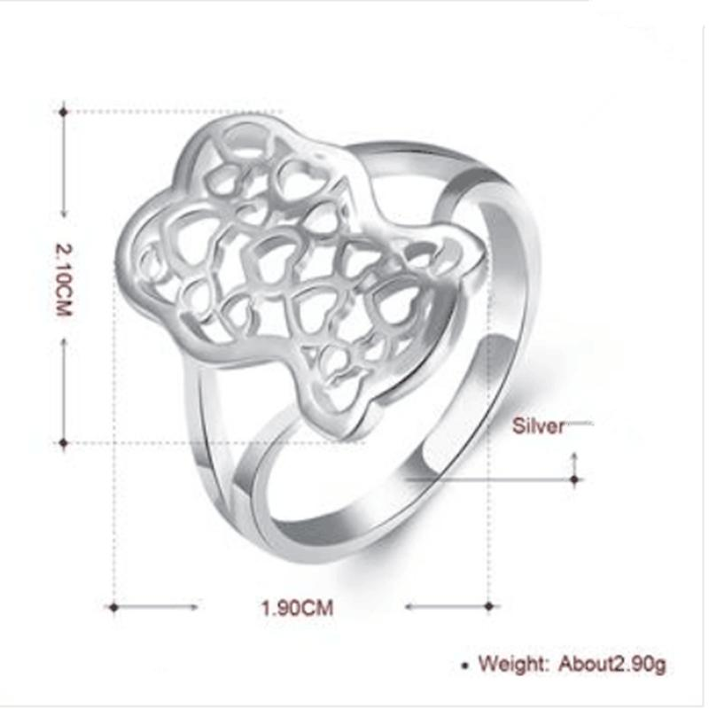 Classic Ring 925 sterling silver Wedding Rings for Men And woman High Quality Jz114