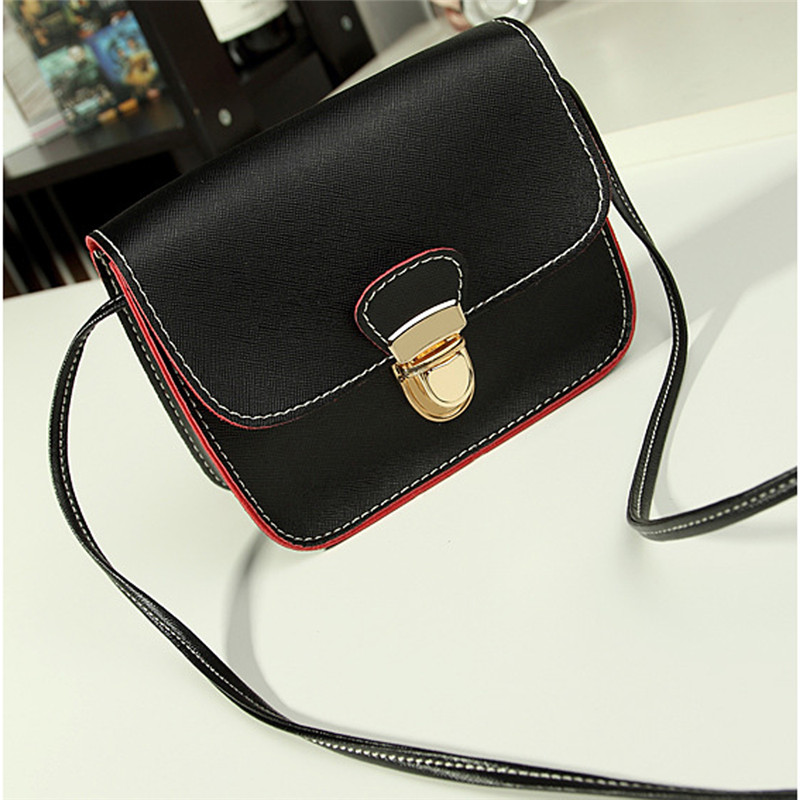 Women Bag Girls Leather Satchel Shoulder Bags Crossbody Handbag Messenger female handbags Wome Famous Brands bag bolsa ...