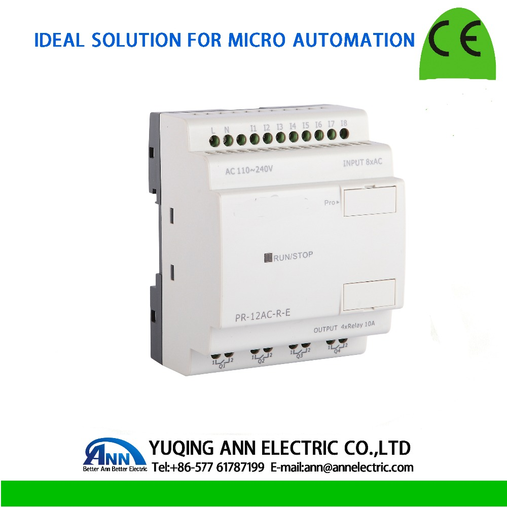 PR-12AC-R-E without LCD, without cable Programmable logic controller,smart relay,Micro PLC controller , CE ROHS pr 24ac r with lcd without cable programmable logic controller smart relay micro plc controller ce rohs