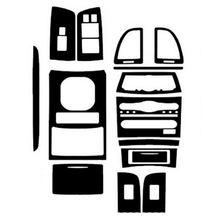 Стайлинг автомобиля 3d углеродное волокно интерьер центральной