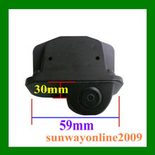 Недорогая широкоугольная камера заднего вида с датчиком CCD SONY для автомобилей  Toyota Avensis 2006-2009 года выпуска. Бесплатная доставка.