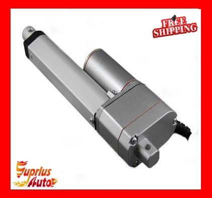 Free shipping 12V / 24V linear actuator! With 19 / 475mm stroke linear actuator for 1000N / 225LBS load with potentiometer free shipping 12v or 24v 4inch stroke 1000n force linear actuator with feedback made in china