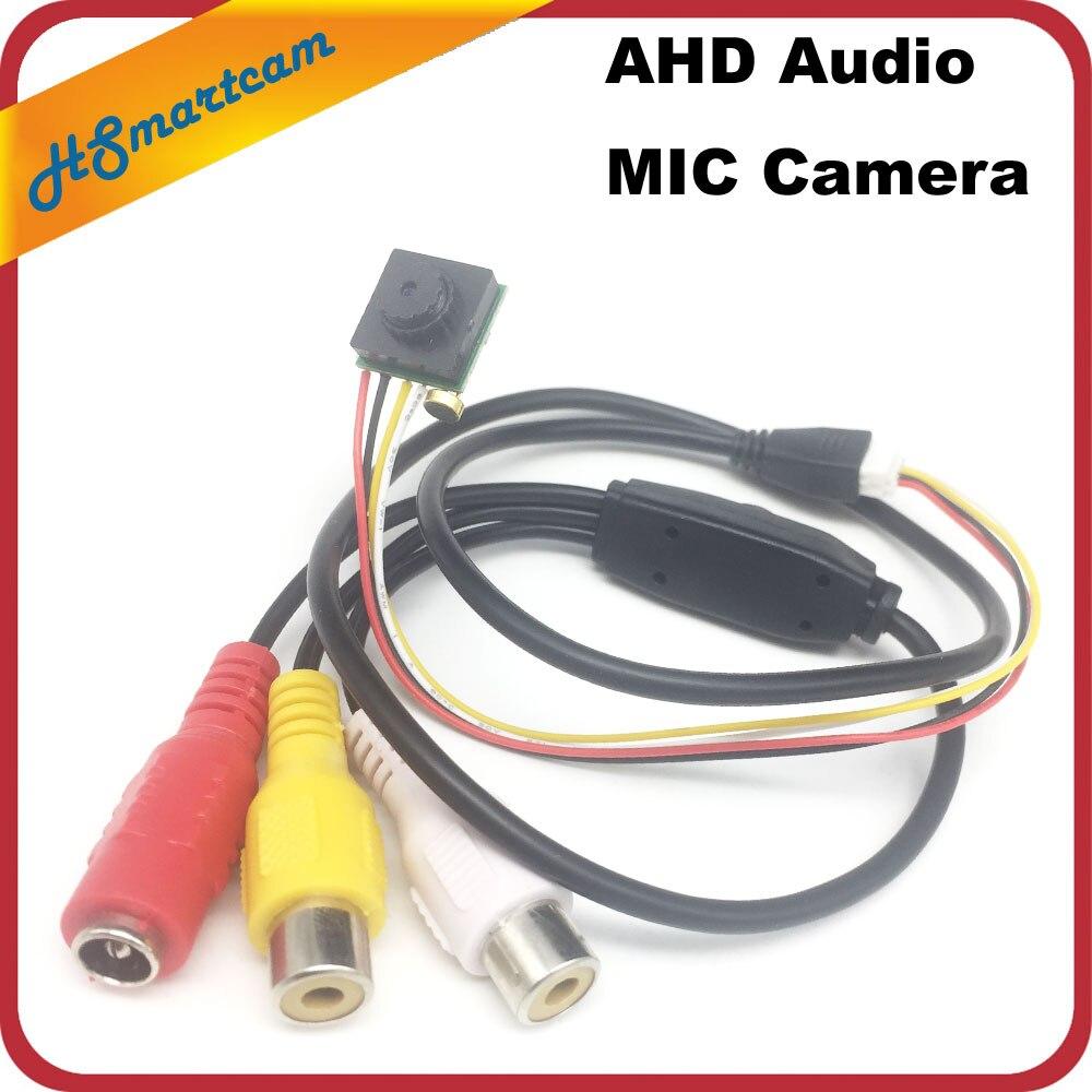 Mini HD AHD Camera CCTV Home Security Camera Pinhole Cam With Mic For AHD 720P 1080P DVR KitsMini HD AHD Camera CCTV Home Security Camera Pinhole Cam With Mic For AHD 720P 1080P DVR Kits