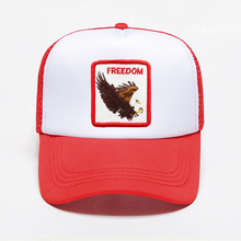 New Fashion Animal Printing Baseall Caps Trucker Snapback Outdoors Sport Adjustable Breathable Mesh Hat Hip Hop Punk Style