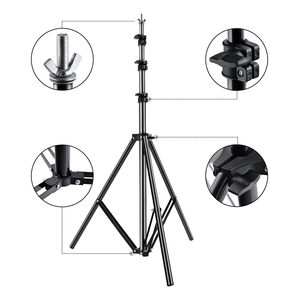 Image 5 - Fusitu 2.6*3M Background Frame Background Support System Stand photography Studio Backdrops Frame For Photo Shoot With Carry Bag