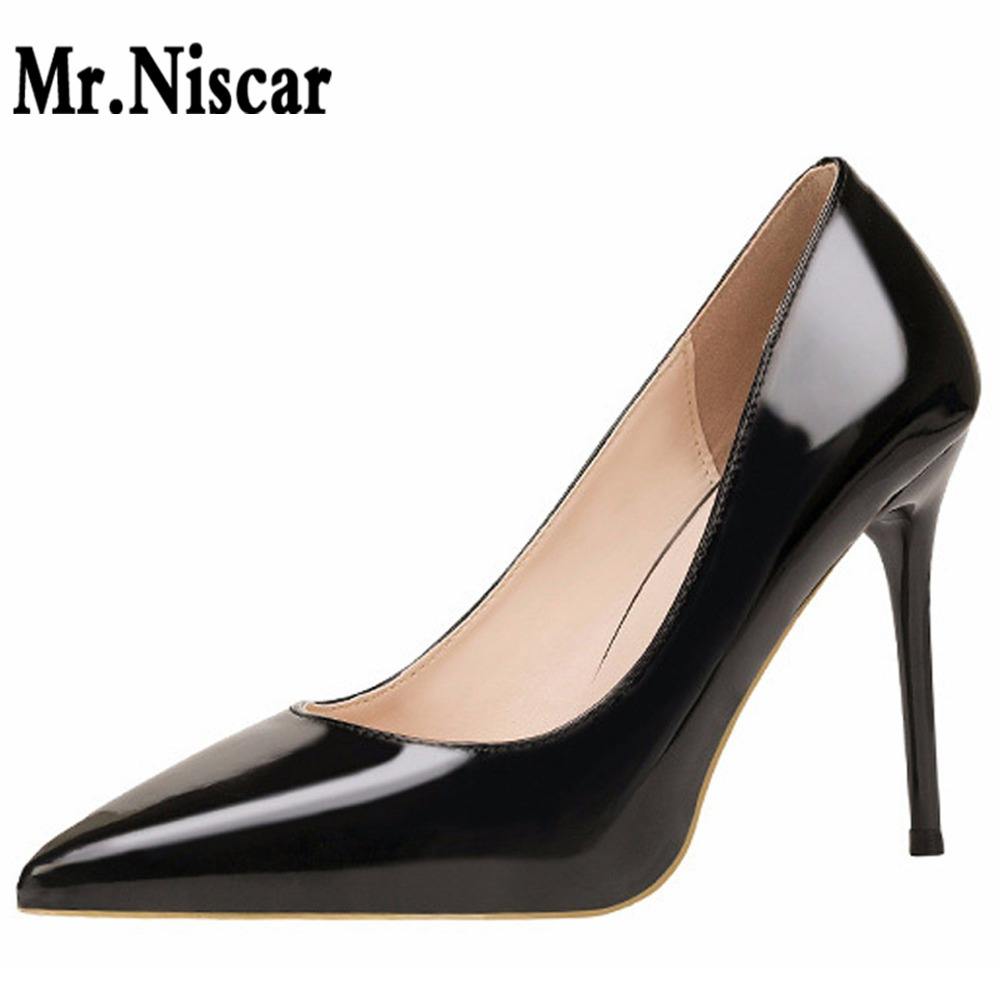 Hot European American Fashion Concise High Thin Heels Women Shoes Metallic Feel Shallow Pointed Toe Slimmer Sexy Nightclub Pumps helena rubinstein подарочный набор eye feel sexy подарочный набор eye feel sexy