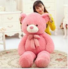 WYZHY New silk velvet teddy bear cute fruit raccoon doll couple plush toys  80CM