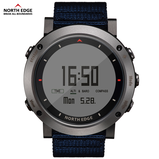 NORTH EDGE Men's sport Digital sports Altimeter Barometer Compass Thermometer watches  3