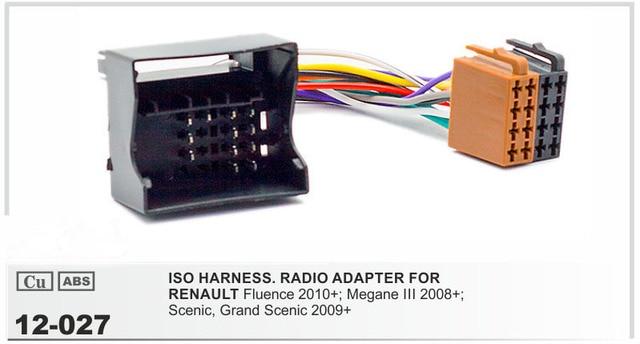 Aliexpress.com : JSTMAX 12 027 Auto Stereo ISO Radio stecker für ...