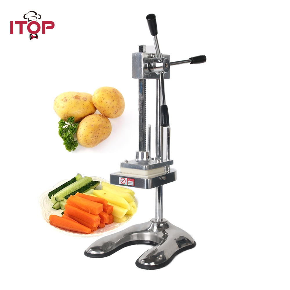 ITOP Manual French Fries Cutter Potato Slicer Carrot Vegetable Cutting Machine пуф french fries