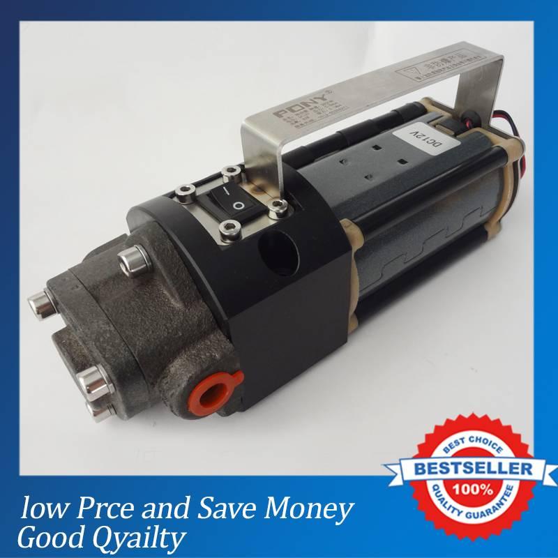 7.5L/min Big Capacity Oil Pump Electric DC Fuel Oil Pump 12V Require 3-4 Day Production time cast iron fuel oil pump mini 24v dc pump 2 5l min gear oil pump yd 1 4