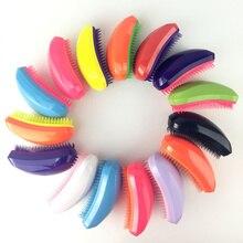 Многоцветный два-цвет монохромный не узел высокого качества волос массаж расческа макияж гребень