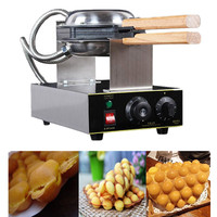 Hot Sale Popular Snack Machine 110V 220V Electric Puff Hong Kong Egg Bubble Waffle Maker Commercial Eggettes Waffle Machine