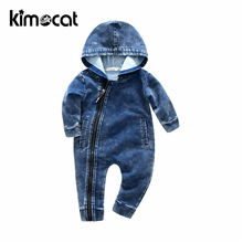 Kimocat Newborn Baby Boy Girl Clothes Long Sleeve Rompers Conjoined Ha Garments Halloween Costume Infant Jumpsuit