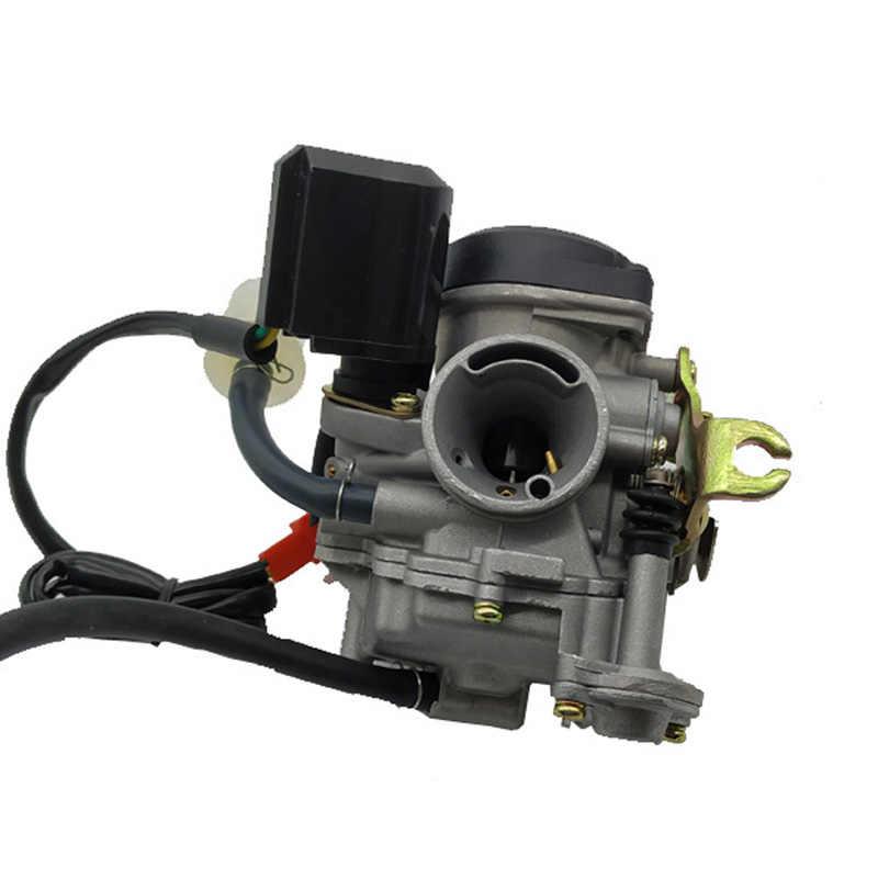 18mm GY6 50cc SCOOTER MOPED PD18J CVK karbüratör CARB 139QMB 139QMA ATV QUADS GO-KART BUGGY (PD18J)