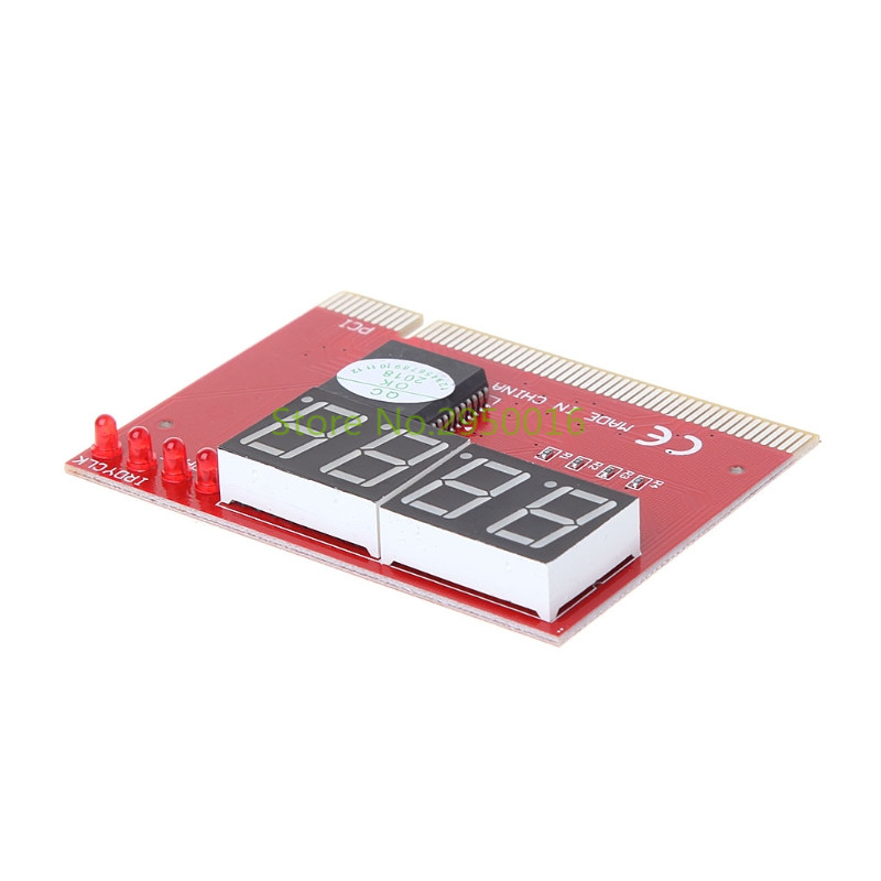 New Computer Analysis PCI POST Card Motherboard LED 4-Digit Diagnostic Test PC Analyzer Network Repair Tool Kit C26 5