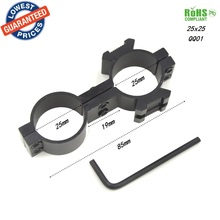 1PC 25X25 Tactical High Profile 25mm Scope mount Rings Weaver Picatinny Rail Mount For Rifle Picatinny Flashlight rifle scope
