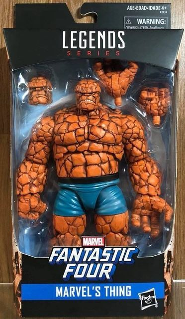 """Marvel Legends Serice Fantastic Four Marvel's Thing 6""""inch"""