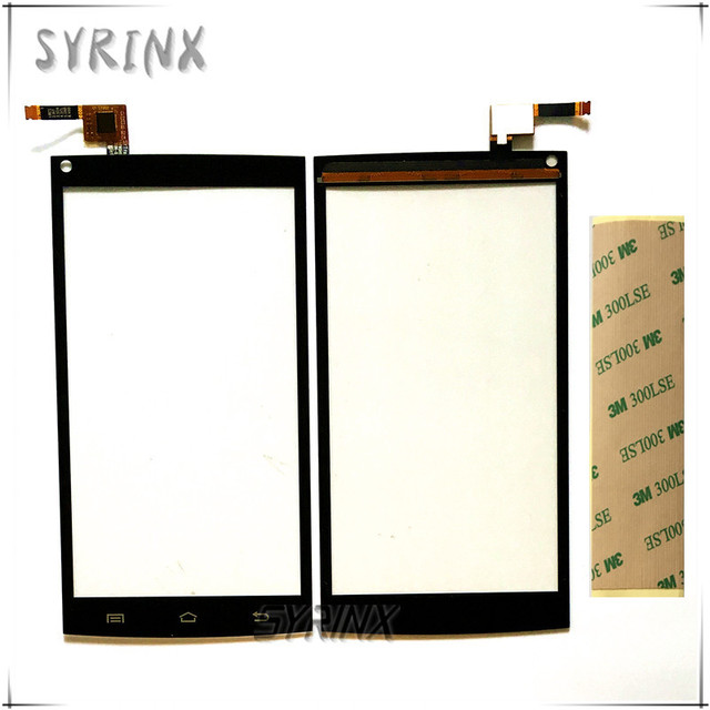 Syrinx 5.0 inch With 3M Tape Touchscreen Sensor For Cubot X6 Touch Screen Digitizer Front Glass Lens Panel Replacement