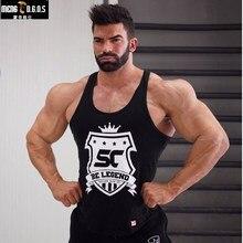 New Men Bodybuilding Cotton Tank top Summer New Male Gyms Fitness workout sleeveless Tanks Man Jogger Men Tank Top