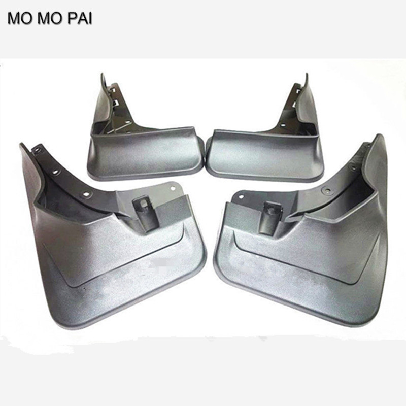 CAR Splash Guards Mud Guards Mud Flaps FENDER FIT FOR  2016 Benz GLE Class W166 car styling 4pc mud flaps splash guards front rear mudguards fit for 06 15 hummer h3 suv offroad paralama mo mo pai