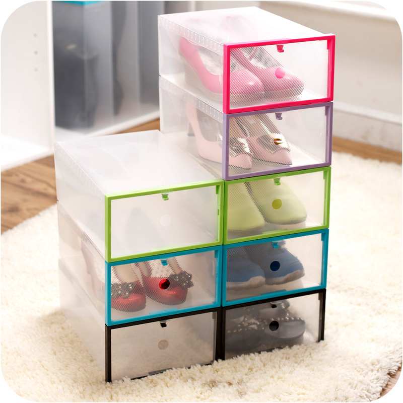 Where Can I Buy Plastic Shoe Boxes