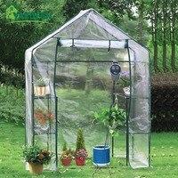 Yardeen ACADIA Garden Walk in Plants Greenhouse 3 Tier 6 Shelf Stands , 55.9x 29.1x 76.7