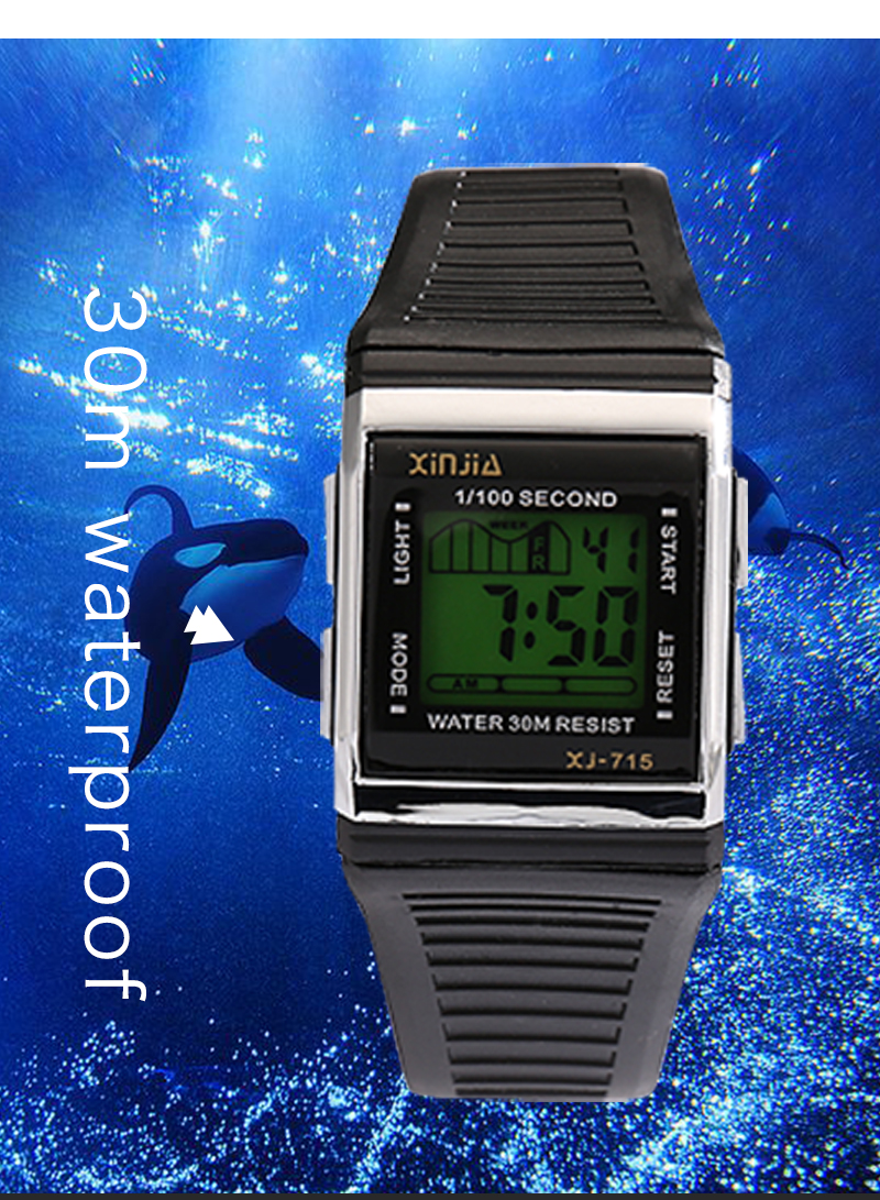 c4319043bf70 Compre XINJIA Marca TOP Original Hombre Reloj Moda Luminosa Ocio ...