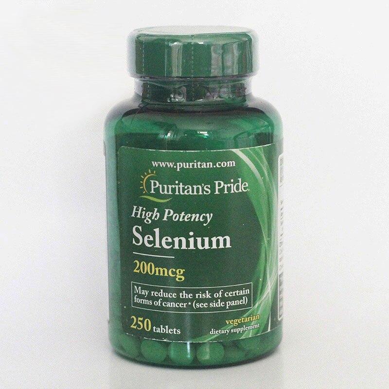 Free Shippping High potency Selenium 200 mcg 250 pcs цена и фото