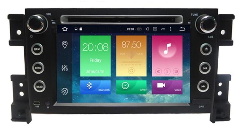 Pure Android 8.1 Car DVD Player for suzuki grand vitara 2007 2008 11 12 13 14 2015 multimedia stereo with BT WIFI GPS Radio