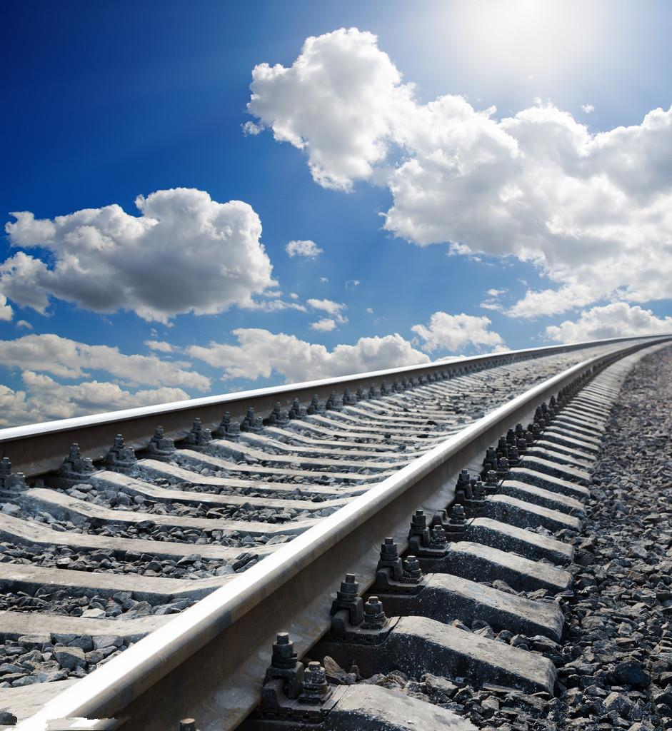 SHENGYONGBAO 3x3m Art Cloth Digital Photography Backdrops Props Photo Studio Background Railway NTG-015