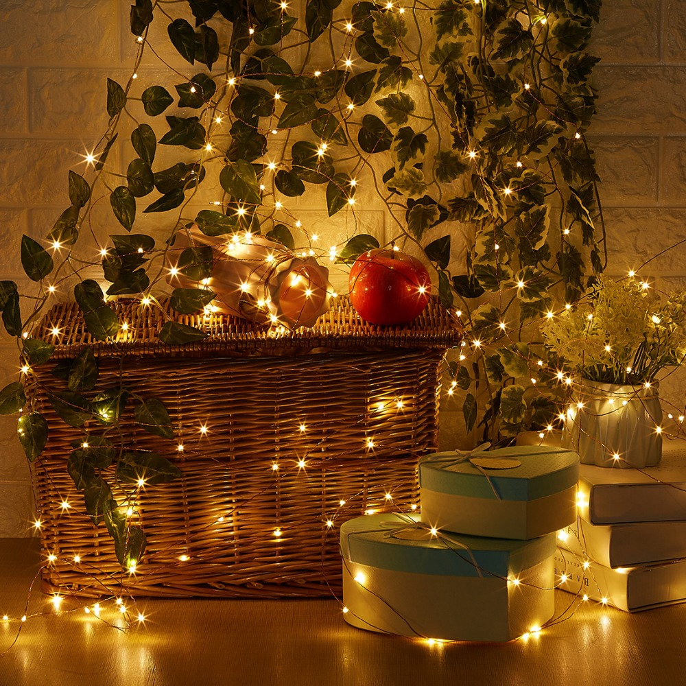 20 M / 66 Ft 200 LEDs Afstandsbediening Dimbare Led String Fairy - Vakantie verlichting - Foto 5