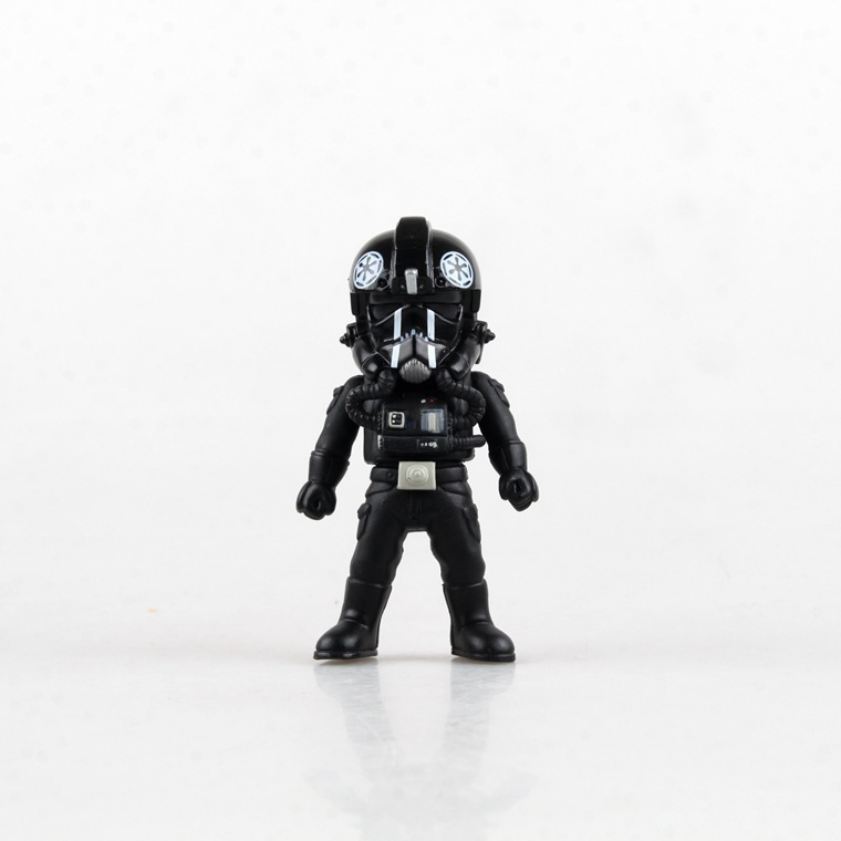 6pc Star Wars Light & Action Function Storm Trooper Boba Fett Darth Vader Clone Trooper C-3P0 PVC Collect Gift Children's Toys подставка siweida swd 1 8m тип fu 7410118
