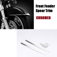 Front Fender Spear Trim For Harley Heritage Softail Classic FLSTC 89 17