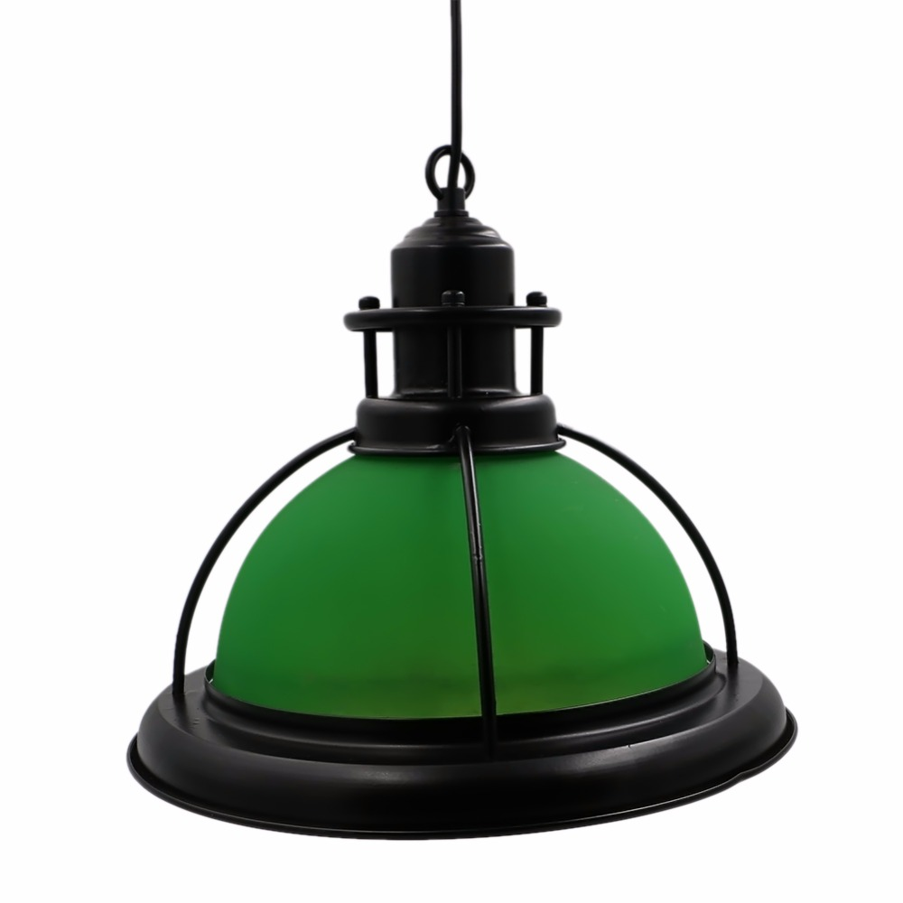 industrial lighting fixture. Vintage Green Glass Lampshade Edison Pendant Lamp Lights Retro Hanging Fixture Industrial Lighting Lamparas For Home Study-in From