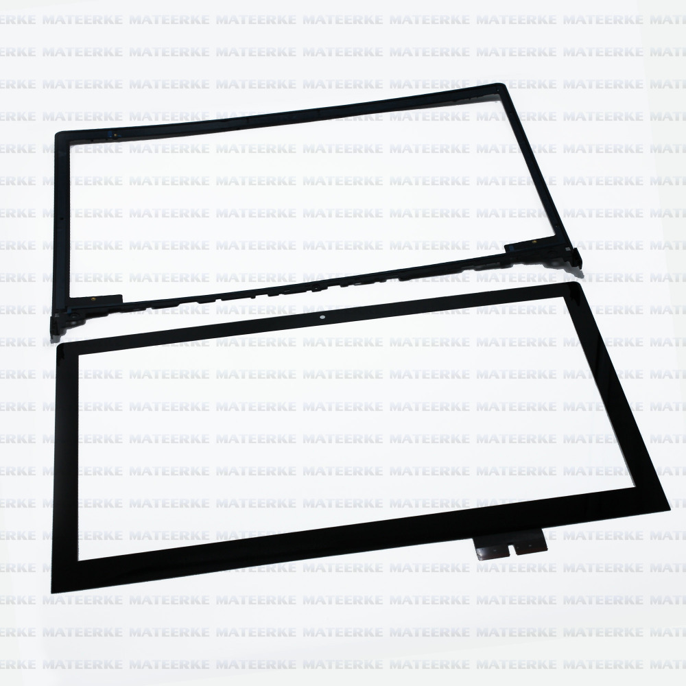 15.6 Frame + Front Touch Screen Digitizer Glass Replacement For Lenovo Flex 2 15 15D brand new for lenovo flex 2 14 flex 2 14d 20376 touch screen digitizer glass replacement frame