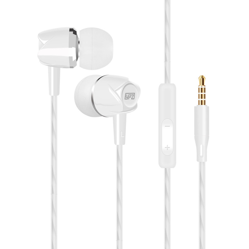 Earphone K8 with microphone heavy bass stereo sound quality wired headset for smart phone mp3 computer fone de ouvido