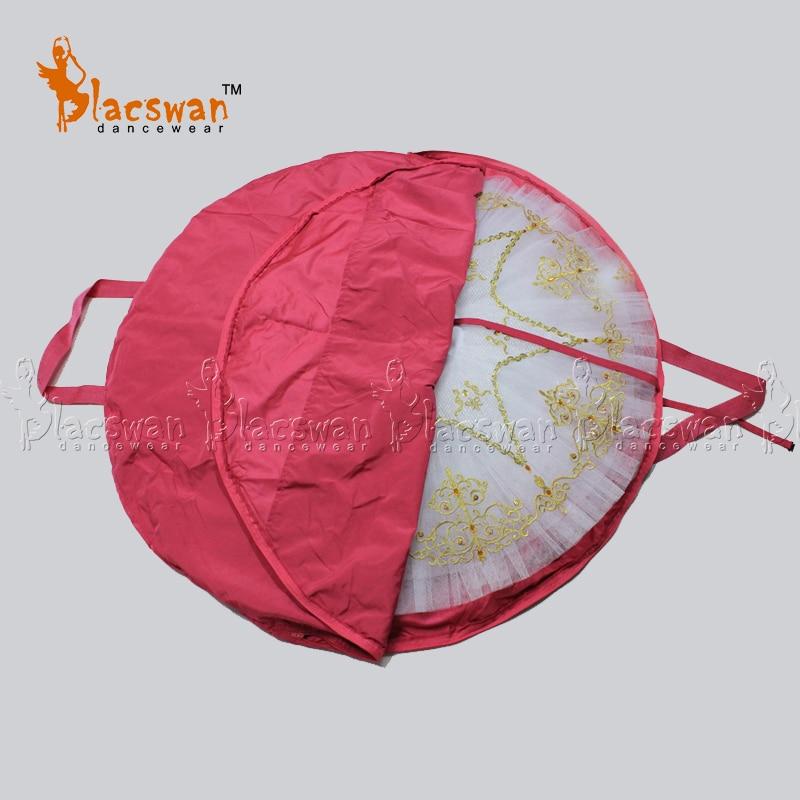 Free Shipping Protective Ballet Tutu Bag Waterproof Black Tutu Bags Pink Foldable Professional Ballet Tutu Bag