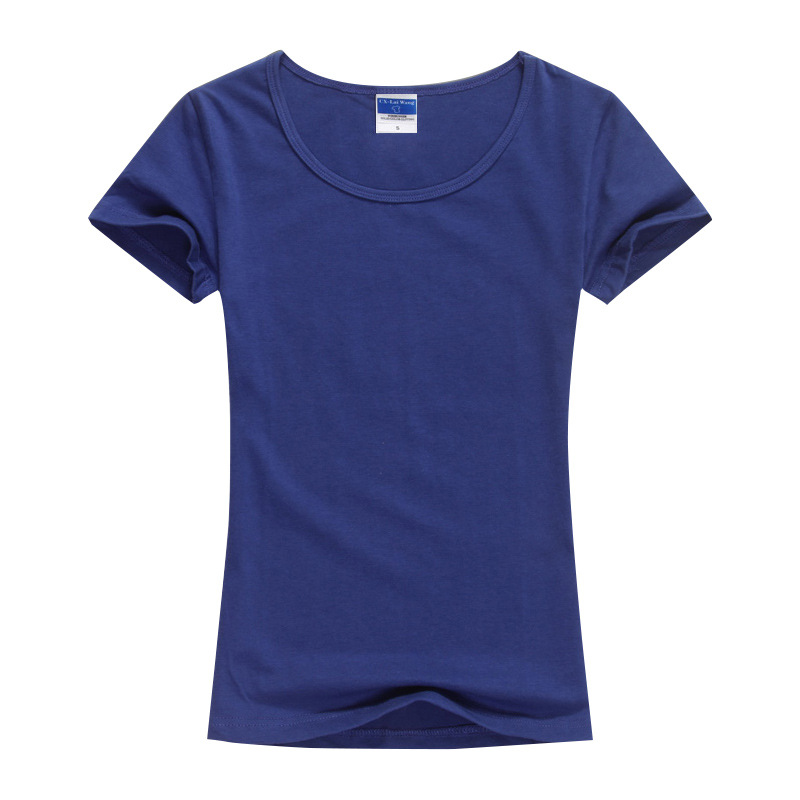 816e2583c6e17 Aliexpress.com   Buy 2018 Summer High Quality 15 Color S 2XL Plain T Shirt  Women Cotton Elastic Basic Tshirt Woman Casual Tops Short Sleeve T shirt  from ...