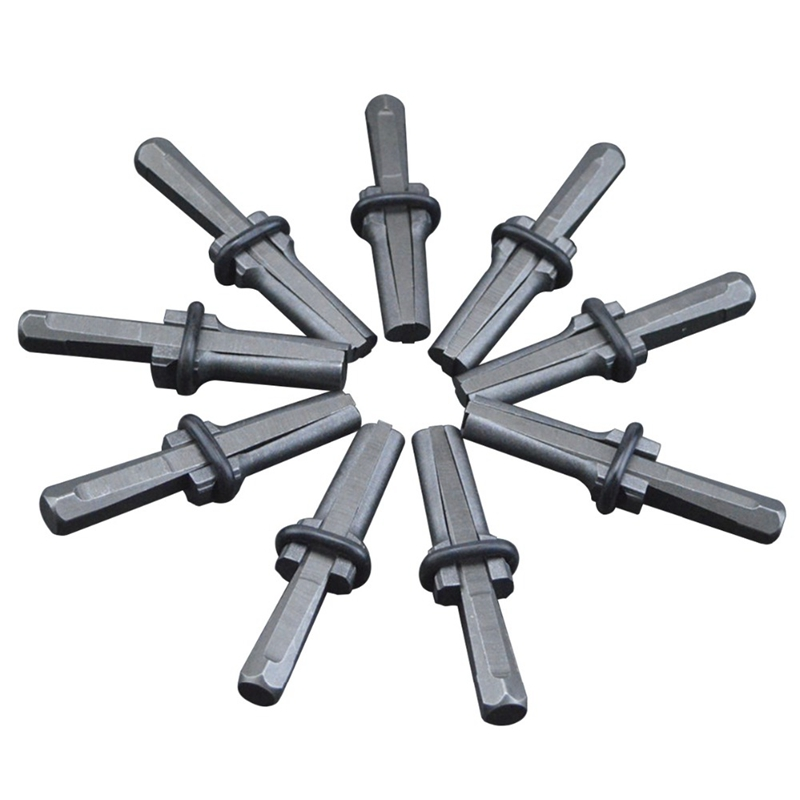 Industrial Grade 9/16 Inch Plug Wedge And Feather Shims Concrete Marble Granite Rock Stone Splitter Hand Tools 14mm in diameter