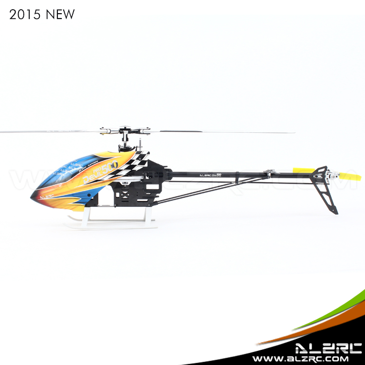 ALZRC -500 Helicopter Devil 500 Pro SDC/DFC KIT RC Helicopter Empty Machine- Black alzrc devil 500 rigid new body assembly