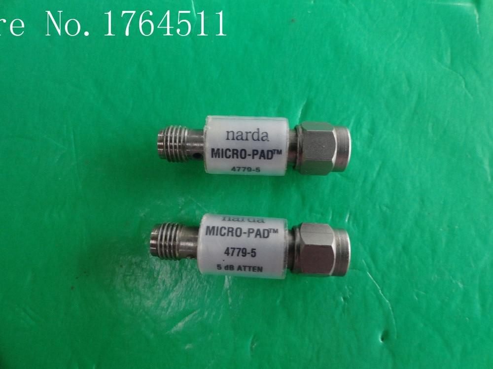 [BELLA] NARDA 4779-5 DC-18GHz Att:5dB P:2W SMA Coaxial Fixed Attenuator