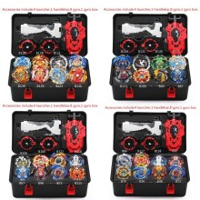 Hot B140 Beyblade Burst Bey Blade Toy Metal Funsion Bayblade Set Storage Box With Handle Launcher Plastic Box Toys For Children