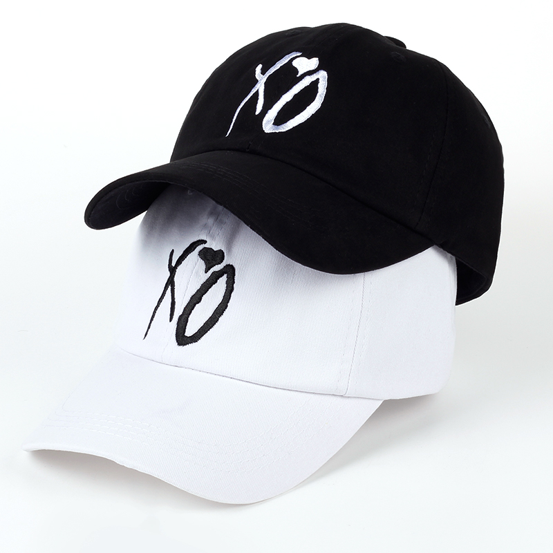 X.O Caps The Newest Dad Hat XO Baseball Cap Snapback Hats High Quality Adjustable Design Women Men The Weeknd Starboy Hats S feitong summer baseball cap for men women embroidered mesh hats gorras hombre hats casual hip hop caps dad casquette trucker hat