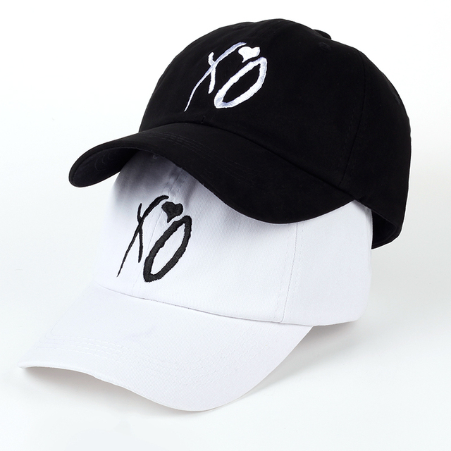 8a333cb5323 X.O Caps The Newest Dad Hat XO Baseball Cap Snapback Hats High Quality  Adjustable Design Women Men The Weeknd Starboy Hats S