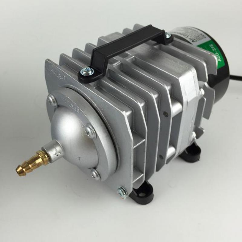 Pompe à Air électromagnétique superbe de compresseur d'air d'aquarium de la puissance 70l/min 45 w pompe à Air d'oxygène de réservoir de poissons avec la Valve de séparateur d'air